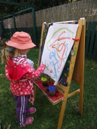 Painting in the fresh air
